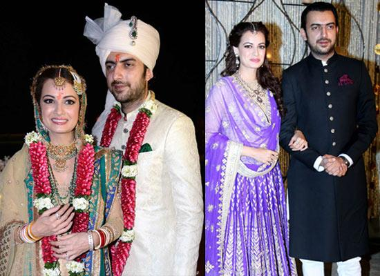Revealing Exclusive Details Of Dia Mirza And Sahil Sangha's Wedding