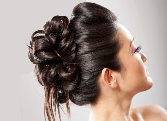 Fine 6 Best Trendy Bun Hairstyles For Indian Brides Bollywoodshaadis Com Short Hairstyles For Black Women Fulllsitofus