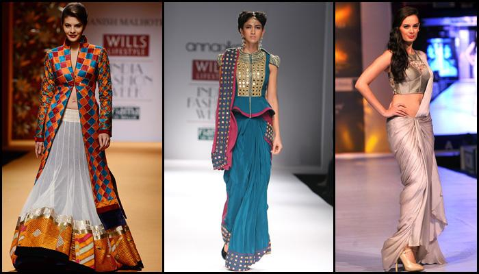 Fabulous Fusion Outfits That Indian Brides Can Rock At Their ...