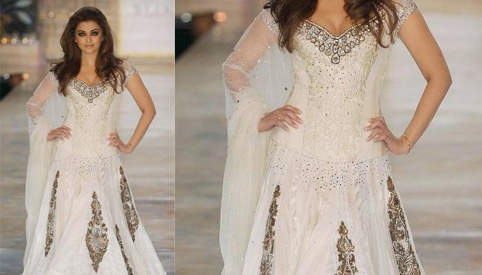 White Bridal Lehenga Style Ideas For Brides Who Want Princess Look On Wedding Day