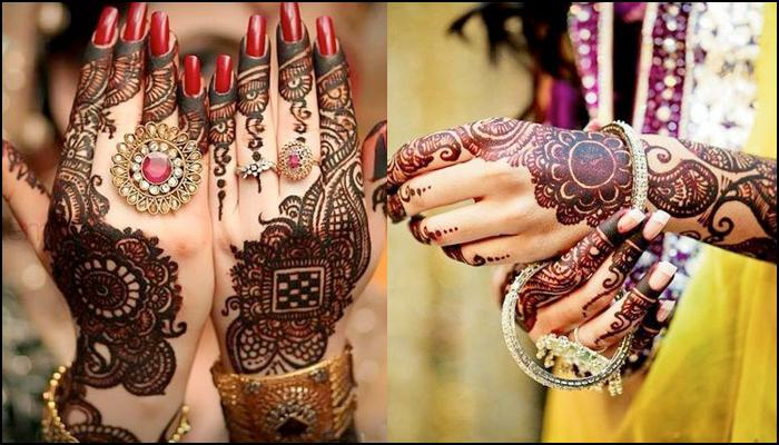 New Karva Chauth Mehandi Ideas Picturs for Free Download