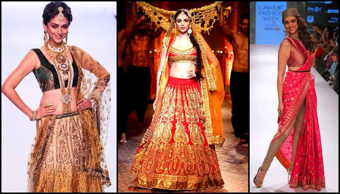 11 Fabulous Traditional Ramp Looks Of Aditi Rao Hydari That You Can Rock At Any Wedding Function