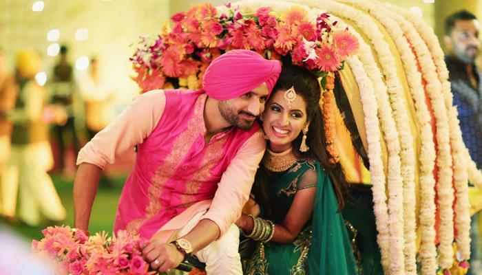 Complete Wedding Album Of Harbhajan Singh And Geeta Basra's Big Fat Punjabi Wedding