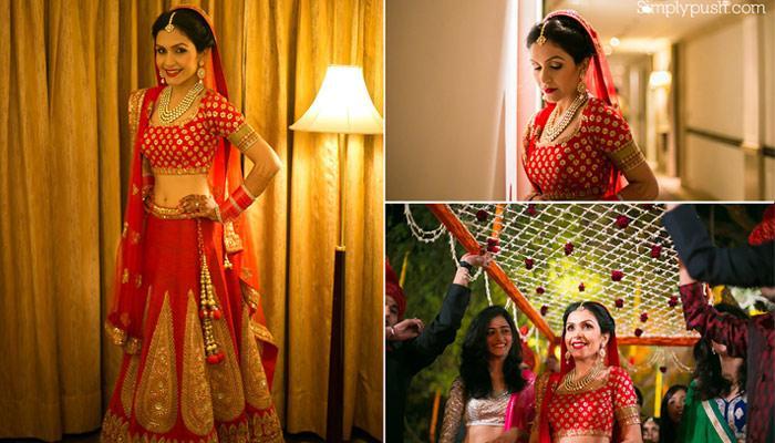 22 Stunningly Beautiful Bridal Shots Shared By India's Best Wedding Photographers