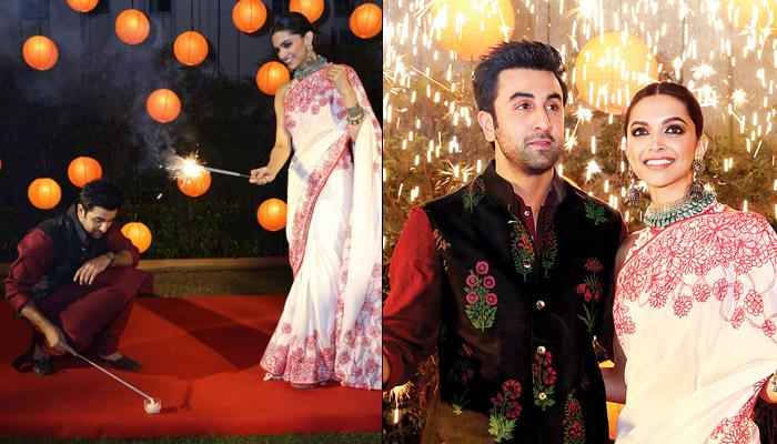 Ranbir Kapoor And Deepika Padukone Celebrate Diwali In The Cutest Way Possible