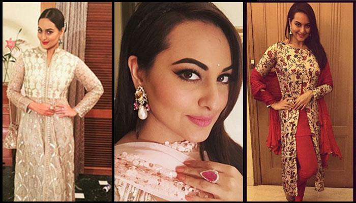 Steal Sonakshi Sinha's Million Dollar Looks For Your Best Friend's Wedding Ceremonies