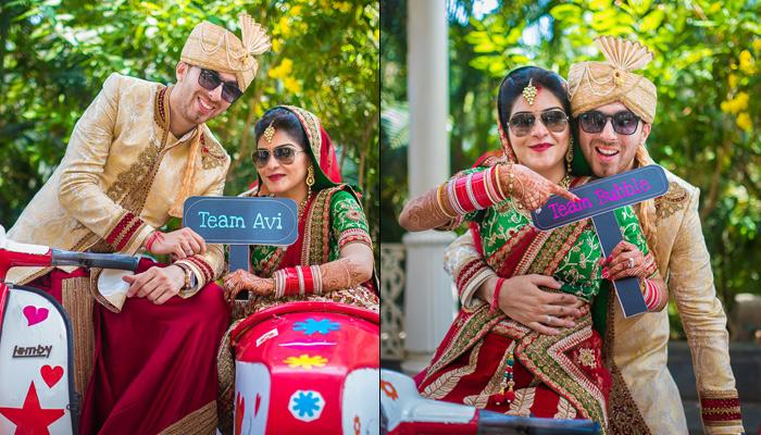 This Bollywood-Style Dream Wedding Will Make You Fall Head Over Heels For Crazy Love Stories