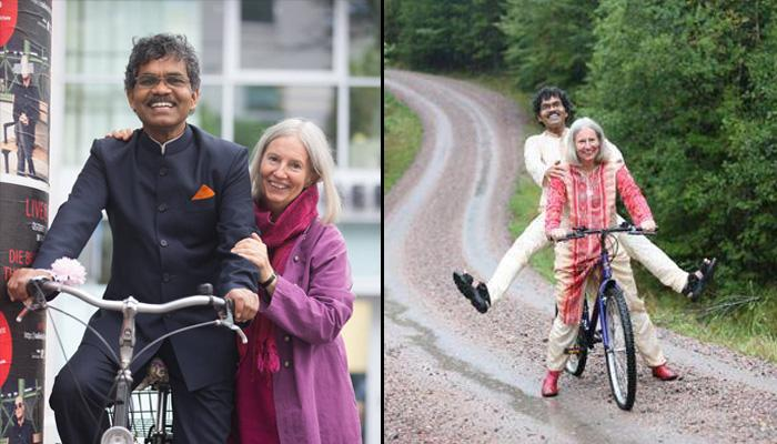 Guy Cycles From India To Sweden To Meet His Wife And Shows Love Know