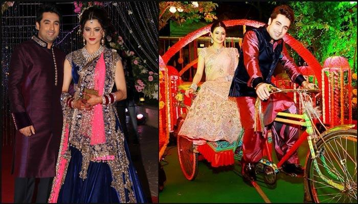 The Beautiful Wedding Story Of Television Actress Aamna Sharif And Producer Amit Kapoor