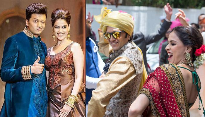 5 Most Fabulous Traditional Looks Of Bollywood Sweethearts Genelia And Riteish Deshmukh