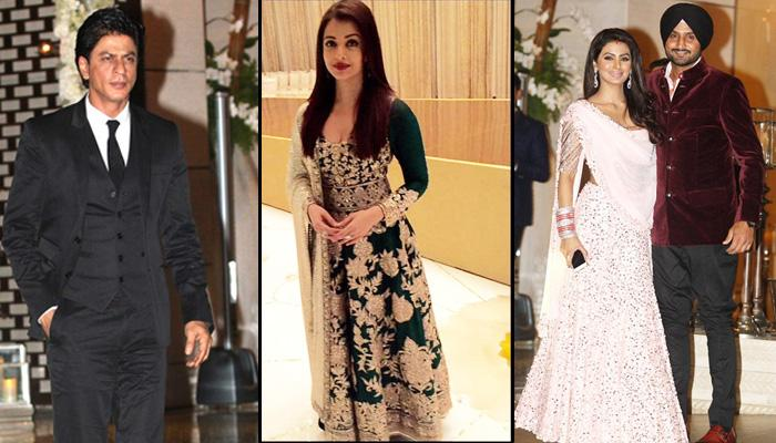 The Ambani's Dazzling Star-Studded Party For Cricketers Harbhajan Singh And Rohit Sharma
