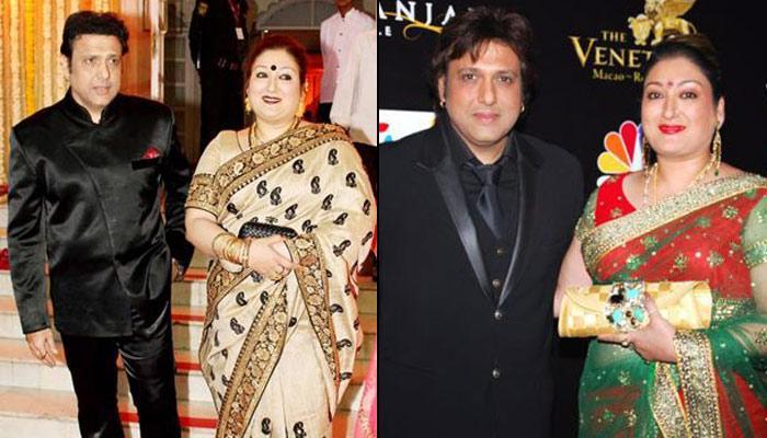 Govinda Marriage Photo With Sunita