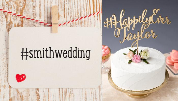 5 Fantastic Tips To Make A Cool And Creative Hashtag For Your Wedding