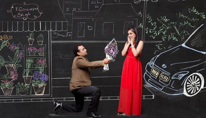 This Pre-Wedding Shoot Is So Amazing And Creative That It Will Tempt You To Steal Some Ideas