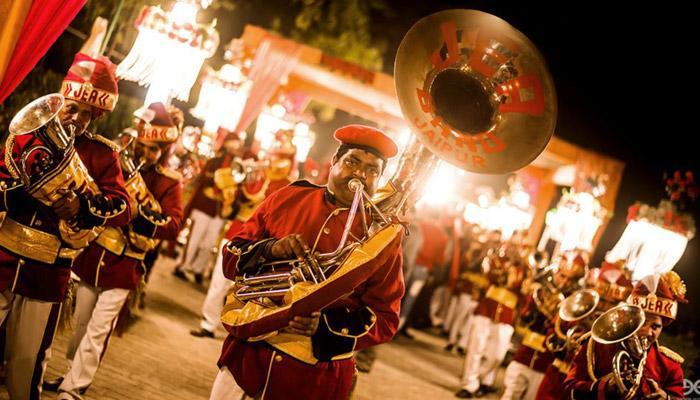 Band Baaja Baraat Wedding. Image Courtesy: Bollywoodshaadis.com