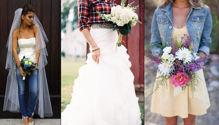 Trendsetter: 7 Superb Styling Tips For Indian Brides Who Wish To Get Married In Jeans And T-Shirt