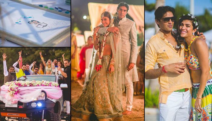 The Wedding Story Of IPL Host Archana Vijaya And Dheeraj Puri