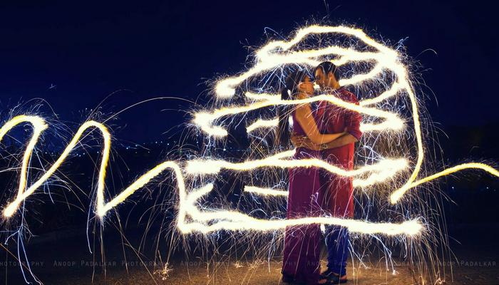 9 Simply Unique And Amazing Ways To Add Sparklers In An Indian Wedding