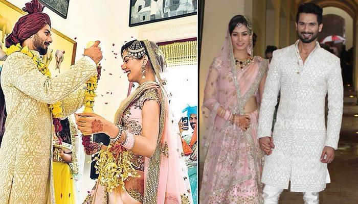 Celebrity Style File: Shahid Kapoor And Mira Rajput's Wedding Looks Decoded