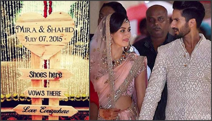 12 Fantastic Wedding Tips To Steal From Shahid And Mira Wedding