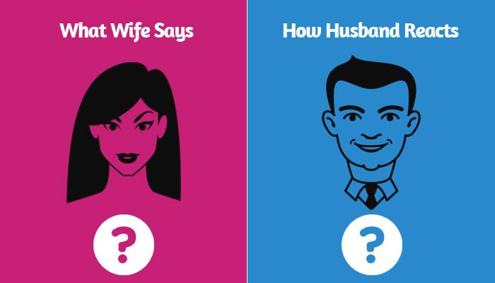 10 Brilliantly Funny Posters That Perfectly Describe How Husbands React To What Their Wives Say