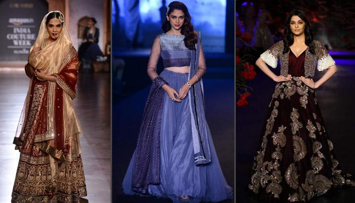 Top 15 Looks From Amazon India Couture Week 2015 That Brides Can Add To Their Wedding Trousseau