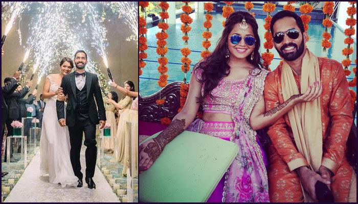 Image result for dinesh karthik with wife honeymoon
