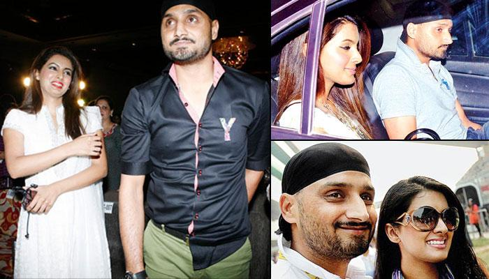 Revealed: Harbhajan Singh And Geeta Basra's Filmy Style Post-Wedding Cocktail Card