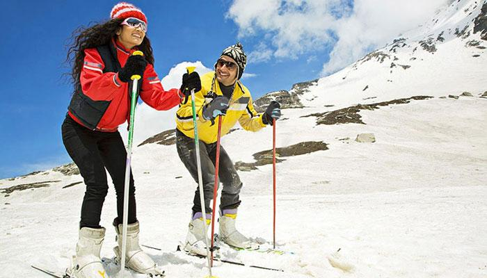 Top 7 Most Exciting Ski Honeymoon Destinations In India And Around The World For Adventurous Couples