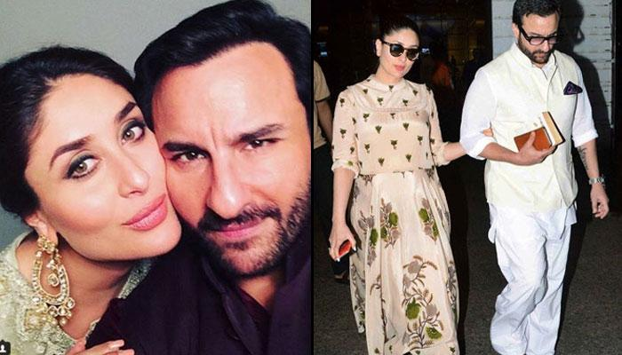 Saif And Kareena Finally Off To Dubai For Their Babymoon?