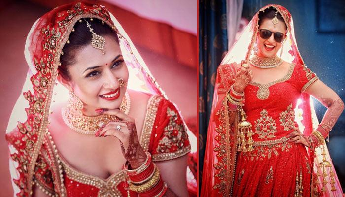'Red' Is Auspicious, 8 Real Brides Who Rocked The 'Red Lehenga' With Full Grace