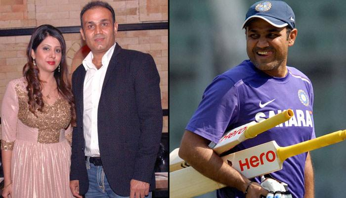 Virender Sehwag's Wife Trolls Him And Shows Everybody That Wives Are Always The 'Boss'