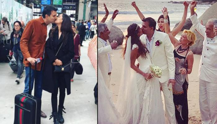 Lisa Haydon Ties The Knot With Her Longtime Boyfriend Dino Lalwani In A Beach Ceremony