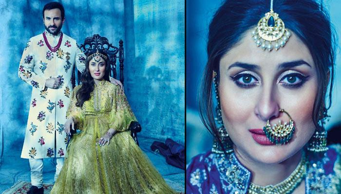 Kareena Kapoor And Saif Ali Khan's Latest Photoshoot For A Magazine Is Pure Royalty