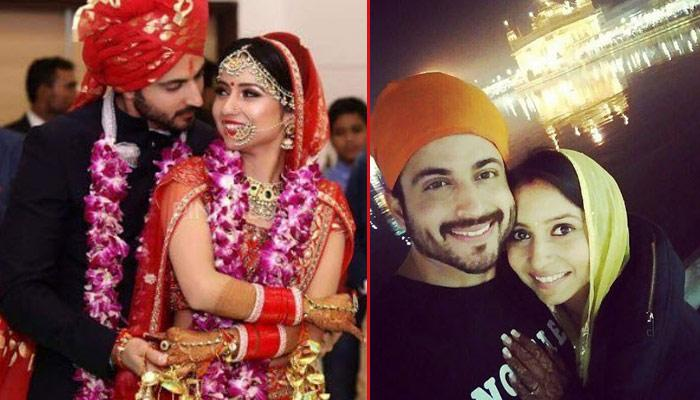 Newly-Weds Vinny And Dheeraj Went To The Golden Temple To Seek Blessings After Marriage