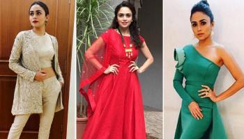 7 Most Stylish Looks Of TV Actress Amruta Khanvillkar