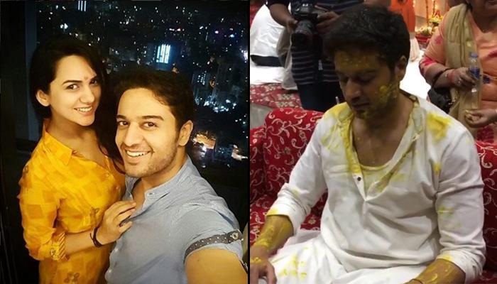 LIVE UPDATES: TV Actor Gaurav Khanna's Haldi Ceremony