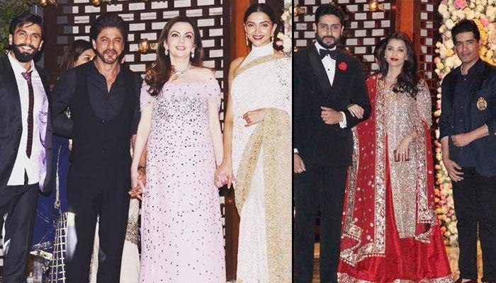 Nita And Mukesh Ambani Host A Star Studded Pre Wedding Bash For Niece Isheta