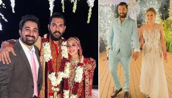 Yuvraj Singh And Hazel Keech Have Their First Dance Post The Goa Wedding