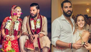 Yuvraj Singh And Hazel Keech's Delhi Sangeet Ceremony Is Filled With Elegance And Fun