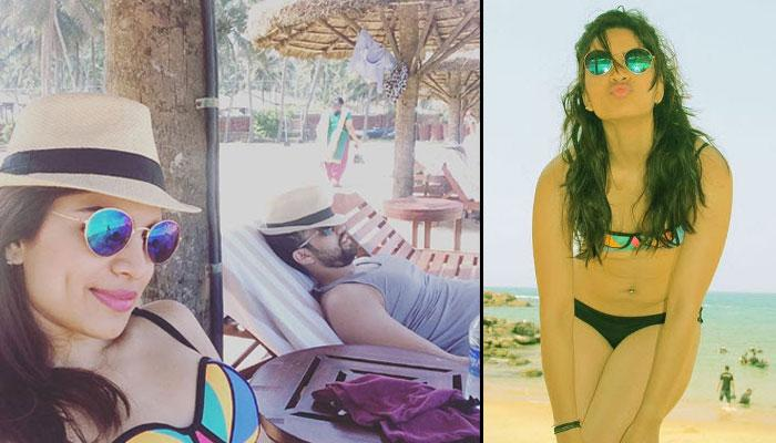 'Kumkum Bhagya' Fame Shikha Singh Is Getting A Lot Of Sun 'N' Sand With Her Hubby In Kerala