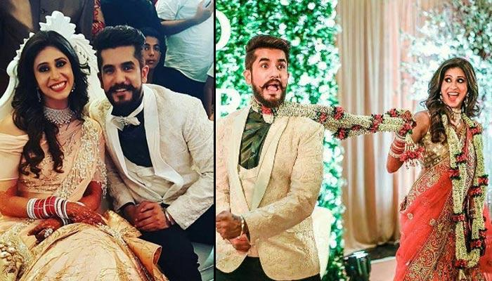 Suyyash And Kishwer Looked Like Pure Royals At Their Wedding And Reception Ceremonies