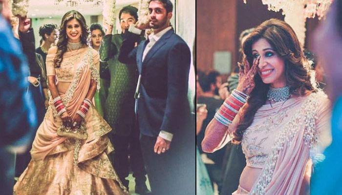 Oh No! Another Celebrity Bride Wore The Same Outfit That Kishwer Wore On Her Wedding Reception