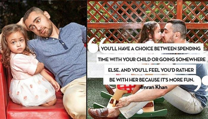 The New-Age Daddy Imran And His Little Princess Imara Setting Up Some Serious Father-Daughter Goals