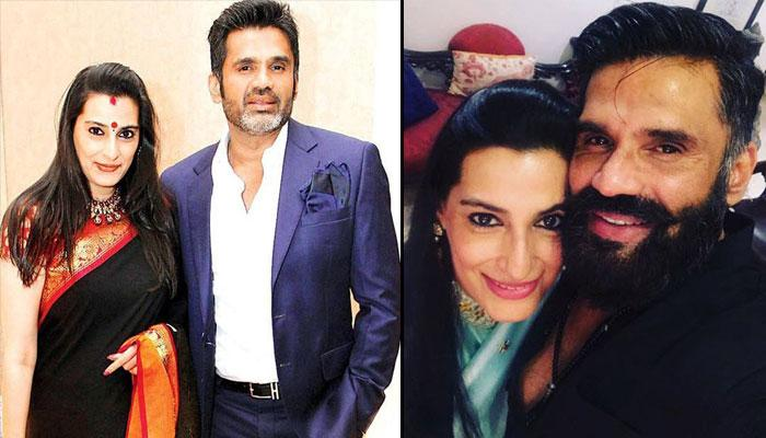 Suniel Shetty Is Celebrating His 25th Anniversary With Wife Mana In London