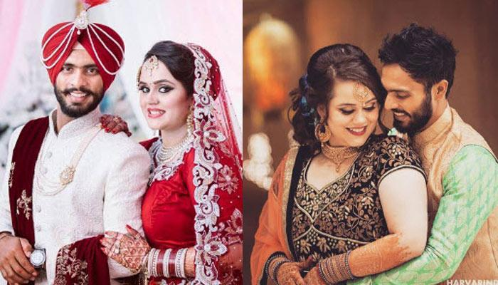 Indian Cricketer Mandeep Singh Gets Hitched To His Girlfriend On Christmas