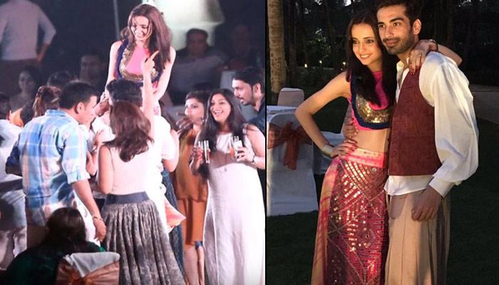 Sanaya Irani And Mohit Sehgal Host Their Pre Wedding Function In Goa