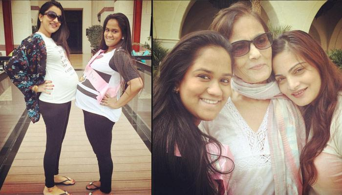 These Baby Shower Pictures Of Salman's Little Sister Arpita Khan Are So Adorable