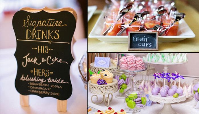 9 Great Ways To Personalise Your Wedding Menu To Impress Guests