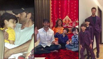8 Adorable Moments Of Hrithik Roshan With His Sons Hrehaan And Hridaan